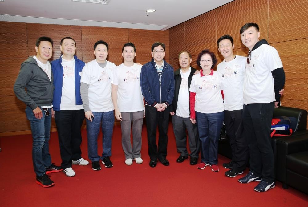 食物及衞生局局長高永文醫生到場支持是次活動