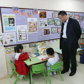 探訪香港基督教服務處石硤尾幼兒學校。