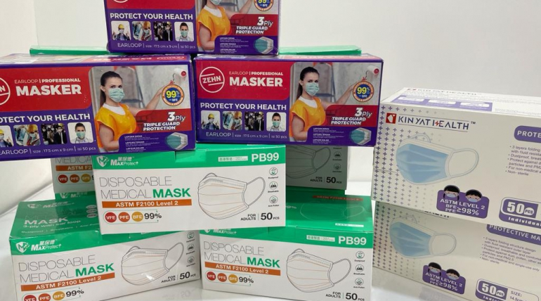 Donation of Prevention Supplies-Masks