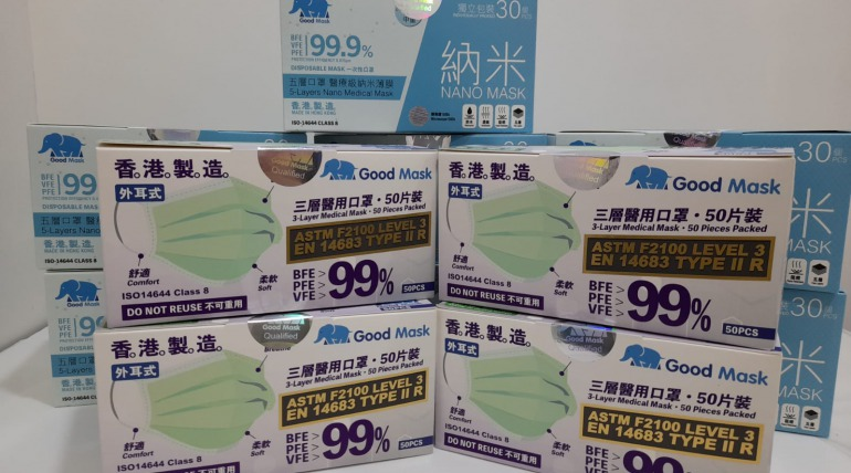 Donation of prevention supplies – Caviar House & Prunier (HK) Ltd