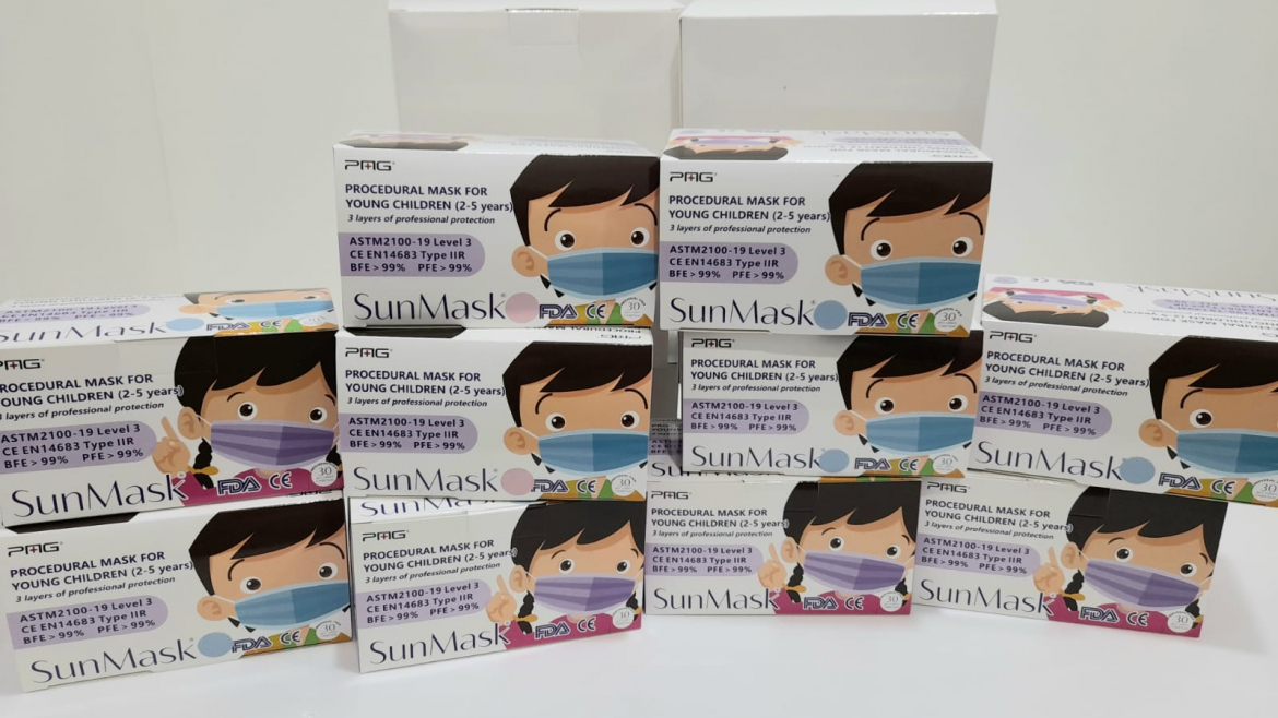 Donation of Prevention Supplies-SunMask